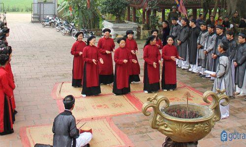 Đặc sắc nghệ thuật hát xoan Phú Thọ và Hội xoan Lễ hội đền Hùng