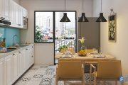 Gợi ý thiết kế căn bếp thông minh cho ngôi nhà có diện tích nhỏ