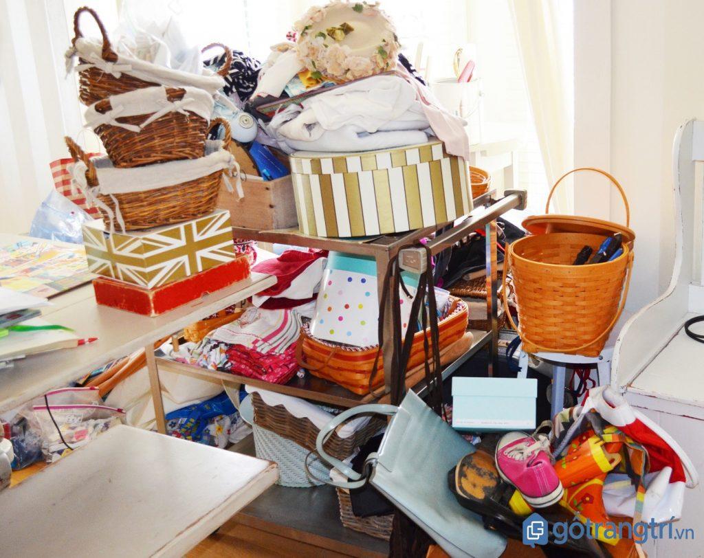 Mẹo dọn nhà đón tết: Loại bỏ bớt hoặc thanh lý đồ cũ giúp không gian sống trở nên rộng rãi. (ảnh: internet)