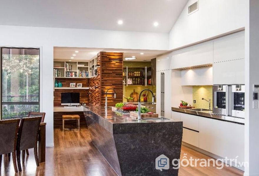 Khám phá không gian bếp đẹp, đơn giản cho căn nhà ống năm 2019 (Ảnh: Internet)