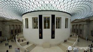Bên trong của viện bảo tàng Vương quốc Anh - Ảnh Internet