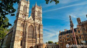 Kiến trúc nổi bật của Tu viện Westminster - Ảnh Internet