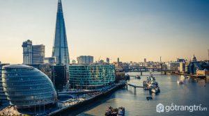 The Shard là một trong những tòa nhà có kiến trúc nổi bật nhất thế giới - Ảnh Internet