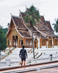 Đền Savanakhet - Kiến trúc Lào độc đáo và vô cùng nổi tiếng (Ảnh Internet)