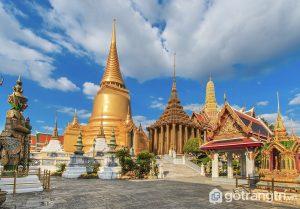 Chùa Phra Keo hay còn gọi là Haw Phra Kaew là công trình kiến trúc Lào vô cùng nổi tiếng (Ảnh internet)