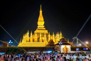 That Luang là di sản văn hóa thế giới và là một trong những biểu tượng kiến trúc Lào (Ảnh Internet)