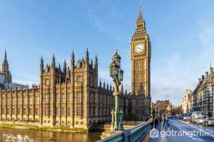 Hình ảnh đẹp mắt của Tháp Big Ben - công trình kiến trúc nổi bật ở nước Anh - Ảnh Internet