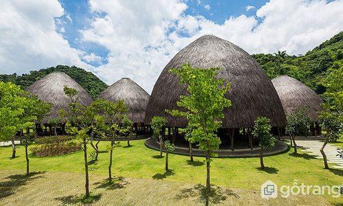 Nhà hàng mái vòm tre có kiến trúc nổi bật trên tạp chí nước ngoài