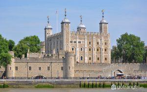 Công trình kiến trúc nổi bật Tháp London nổi tiếng này được xây dựng trong suốt 3 thế kỉ - Ảnh Internet