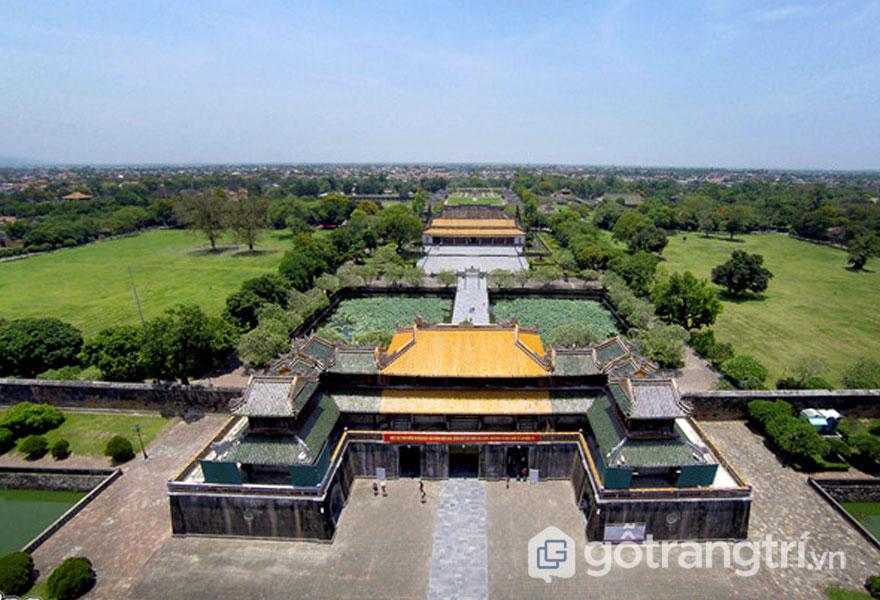 Năm 1993 kinh thành Huế đã được UNESCO công nhận là Di sản Văn hóa Thế giới (Ảnh: news.zing.vn)