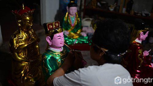 Làng tạc tượng Bảo Hà mang đậm dấu ấn văn hóa tinh hoa dân tộc