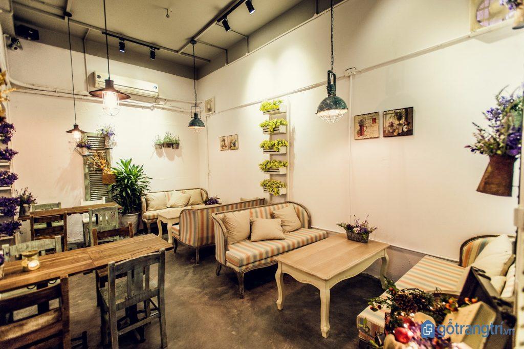 Thiết kế quán cà phê đẹp theo nhu cầu của số đông khách hàng. (ảnh: internet)