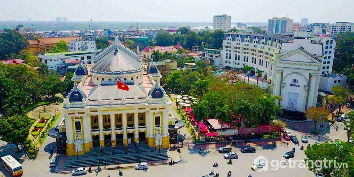Nhà hát lớn Hà Nội: Công trình kiến trúc nghệ thuật quy mô, lộng lẫy