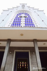 Hình ảnh bên ngoài Nhà thờ - Ảnh internet