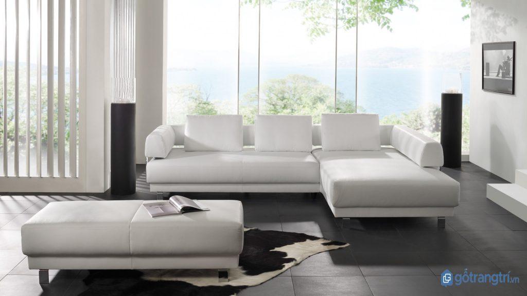 Phong cách tối giản giảm thiểu đến tối đa việc trang trí trong không gian nội thất. (ảnh: internet)