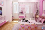 Tham khảo ý tưởng thiết kế phòng ngủ bé gái nhẹ nhàng, dễ thương