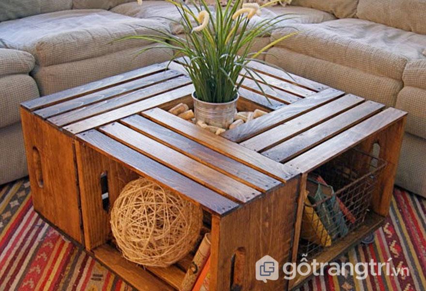 Pallet gỗ thông (Ảnh: Internet)