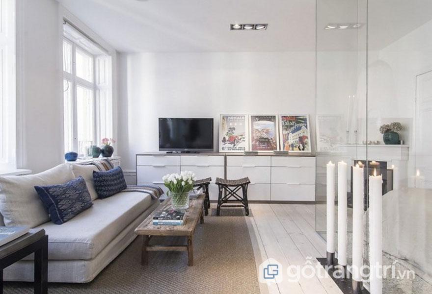 Phong cách nội thất scandinavian phù hợp với mọi kiến trúc bởi sự trẻ trung, sang trọng (Ảnh: Internet)
