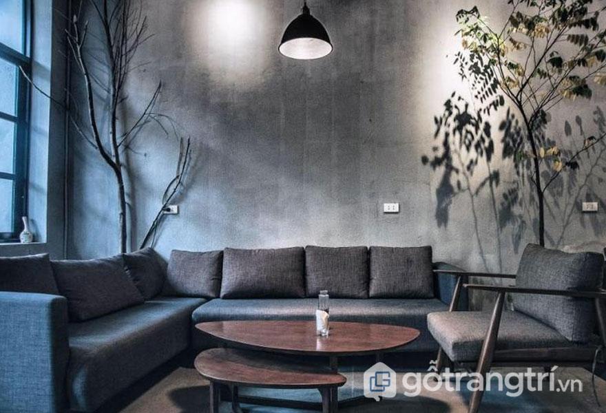 Không gian quán cafe bài trí theo phong cách scanadinavian ở Việt Nam(Ảnh: FIKA Cafe)