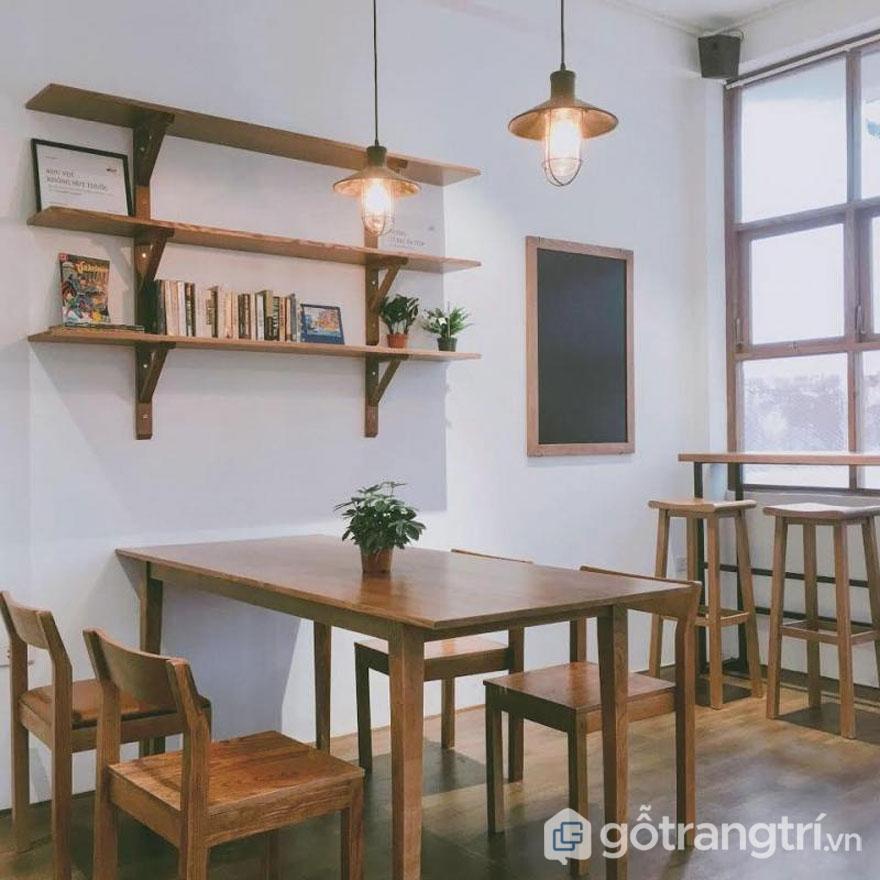 Phong cáchScandinavia ở quán cafe Kone với không gian thoáng sạch, gần gũi (Ảnh: Kone Cafe)