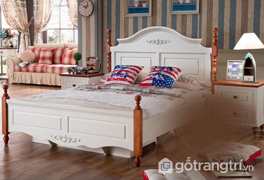 Phong cách scanadinavian ở phòng ngủ khá tinh tế(Ảnh: Internet)