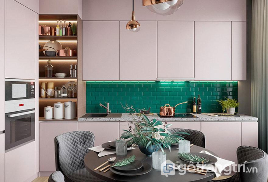 Phòng bếp đậm chất xanh (Ảnh: Internet)