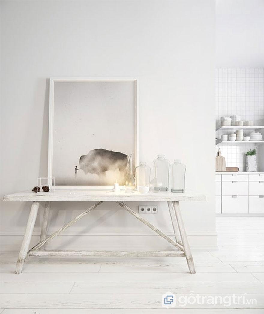 Ánh sáng luôn được xem là nhân tố quan trọng không thể thiếu trong phong cách scandinavian style (Ảnh: Internet)