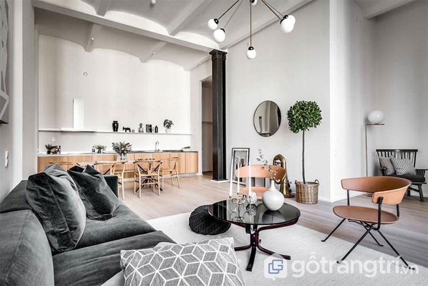 Hé lộ 10 giải pháp thiết kế nội thất chuẩn phong cách scandivian style (Ảnh: Internet)