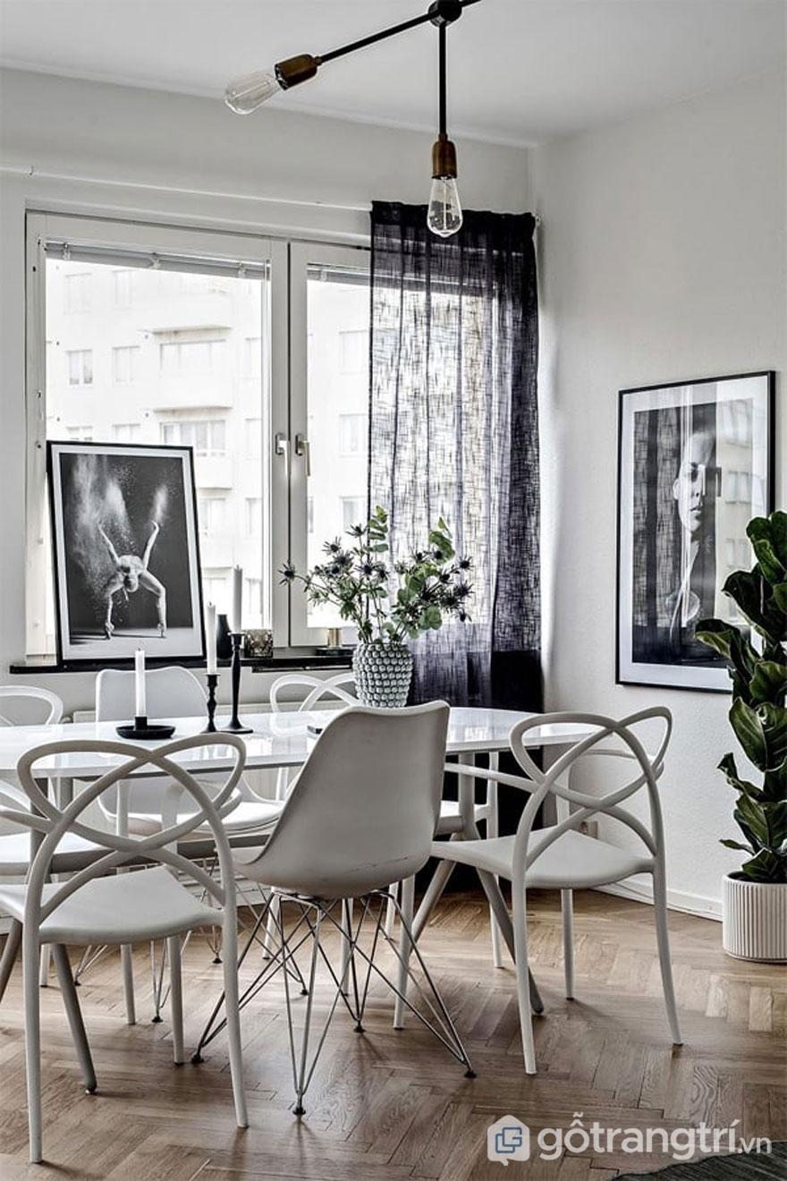 Theophong cách scandinavian style, những vật dụng nội thất đều theo lối tối giản nhưng hiện đại (Ảnh: Internet)