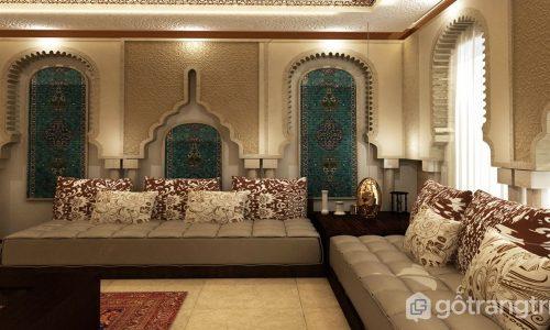 Phong cách thiết kế nội thất Moroccan – sự kết tinh nhiều nền văn hóa