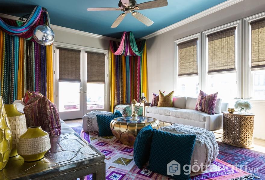 Phụ kiện trang trí góp phần làm nên vẻ đẹp cho căn hộ (ảnh internet)