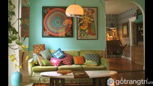 Phong cách Vintage được ứng dụng nhiều trong thiết kế nội thất - Ảnh internet