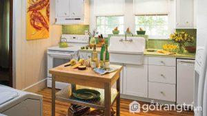 Phòng ăn phong cách vintage được bày trí vô cùng đơn giản với những gam màu nhẹ nhàng và thanh lịch - Ảnh internet