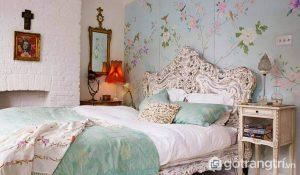 Phòng ngủ phong cách vintage nhẹ nhàng và ấn tượng - Ảnh internet