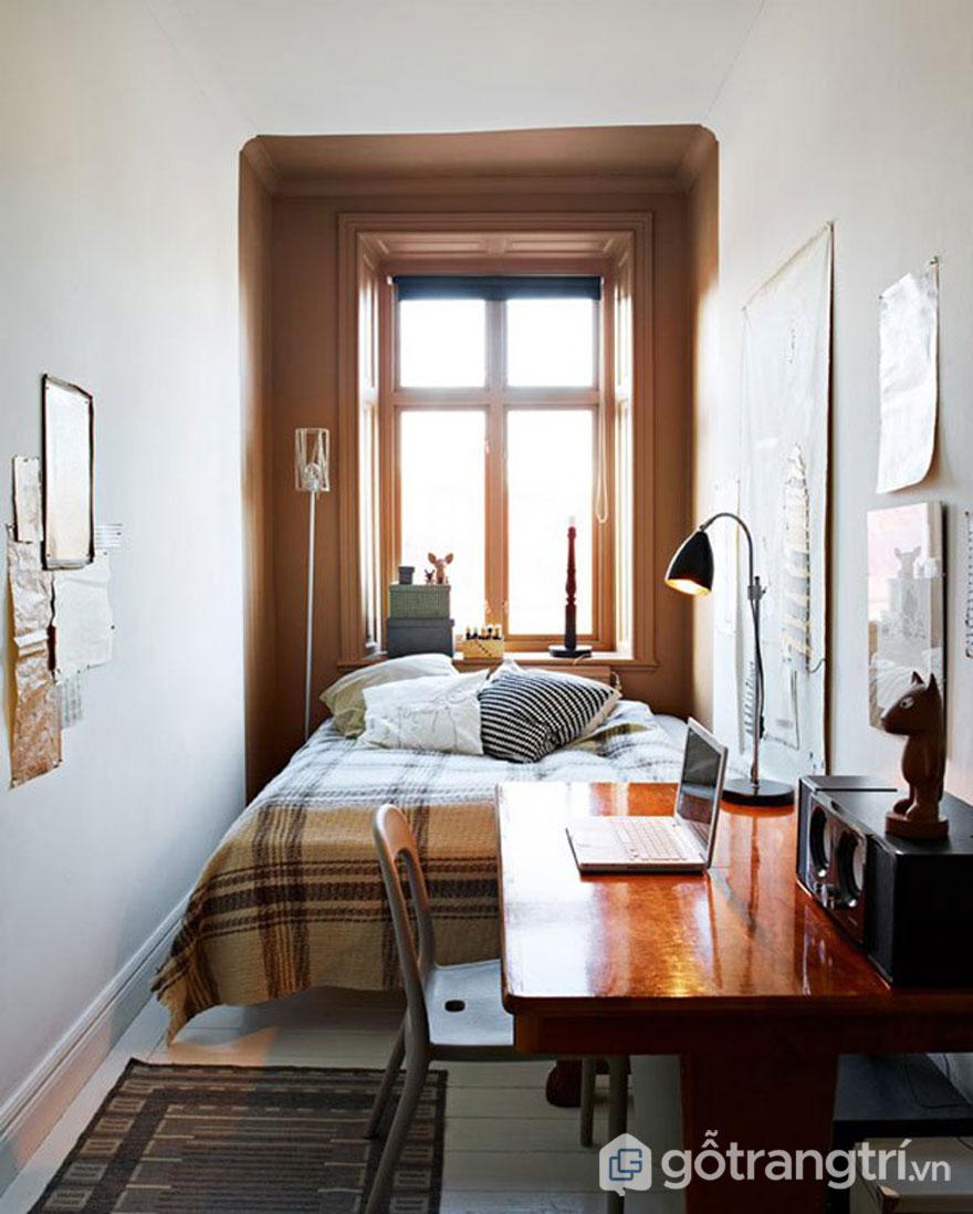 Phòng ngủ có cửa sổ (Ảnh: Internet)