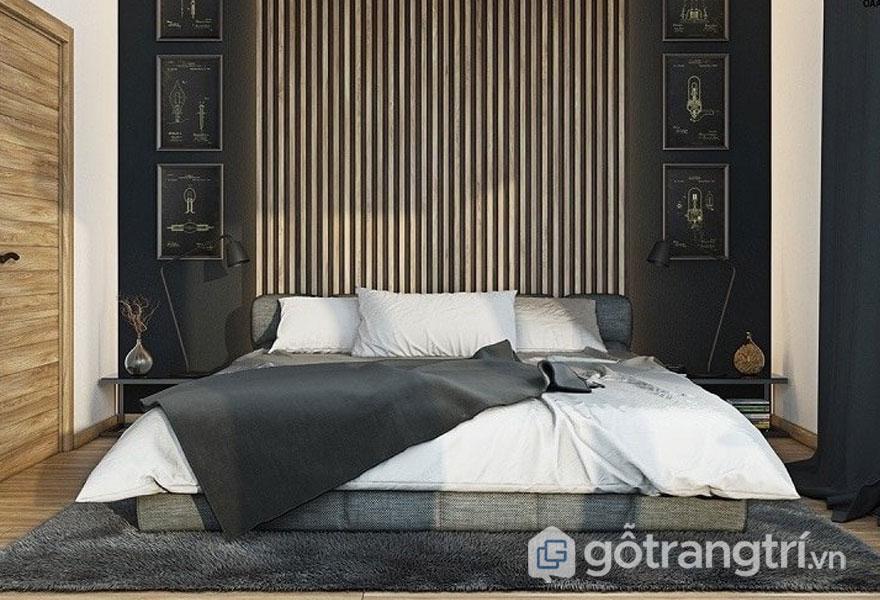 Phòng ngủ sử dụng đệm thay dùng giường (Ảnh: Internet)