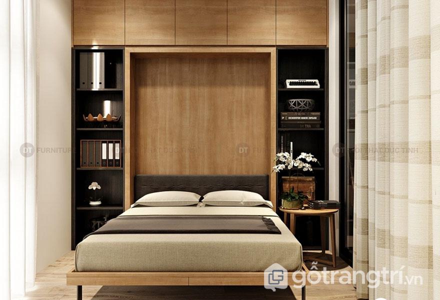Gợi ý những cách thiết kế phòng ngủ nhỏ từ 4m2 - 9m2 đẹp mê ly (Ảnh: Internet)