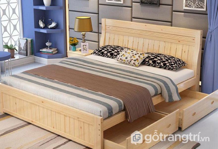 Giường hộp sử dụng với phòng ngủ nhỏ (Ảnh: Internet)