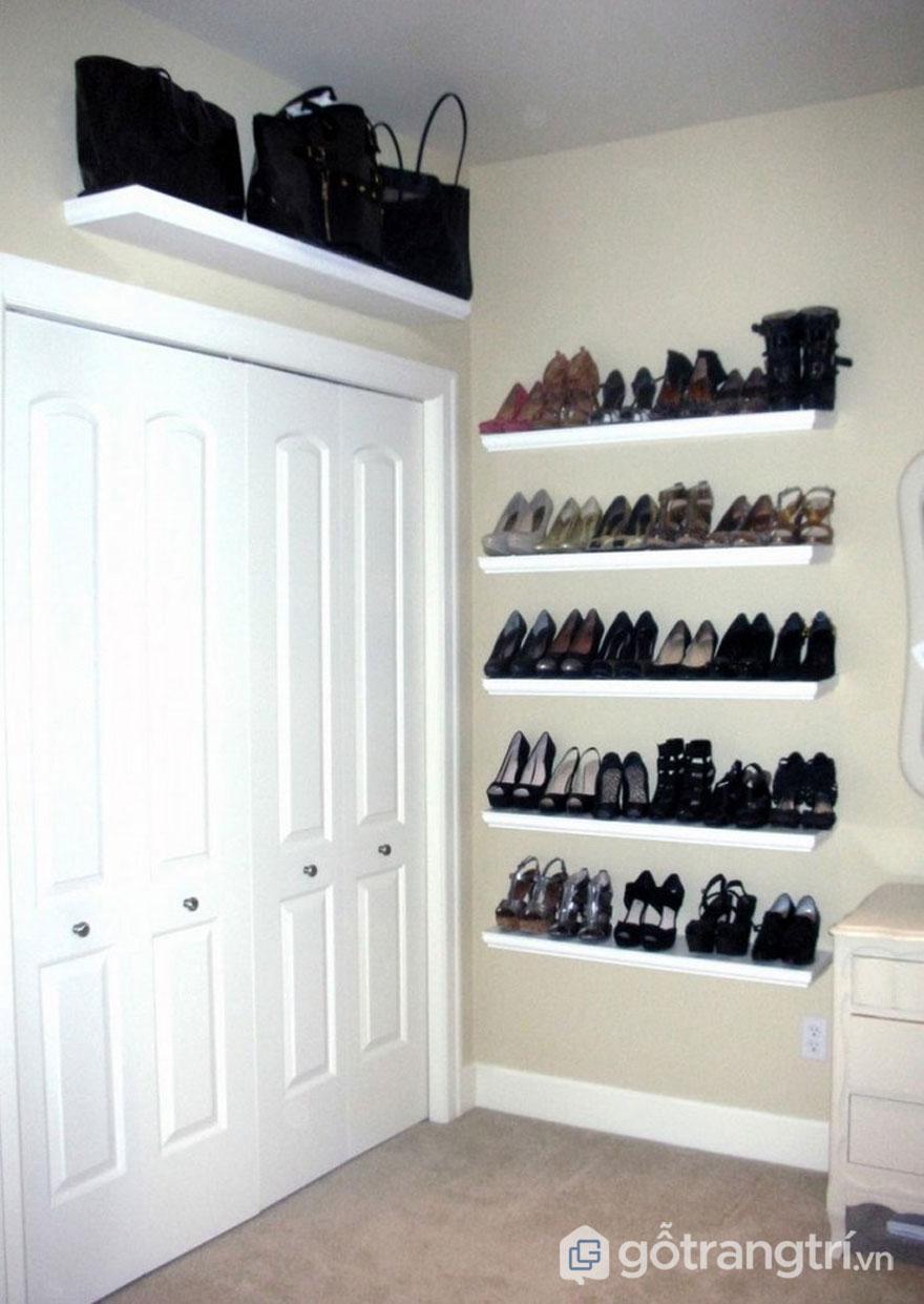 Giá để giày dép, túi xách (Ảnh: Internet)
