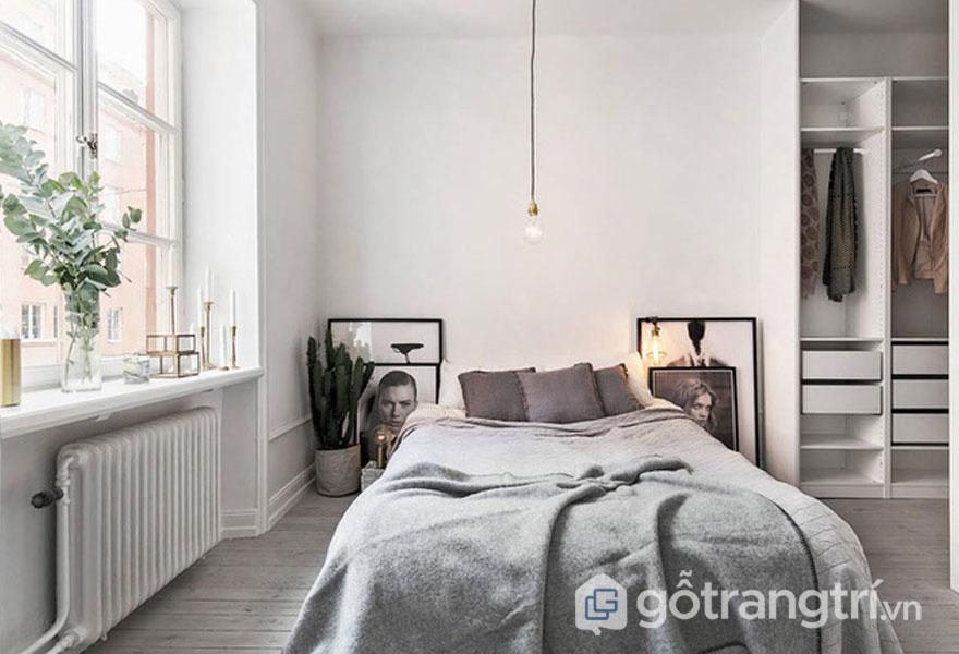 Lên chi phí thiết kế căn phòng ngủ scandinavian (Ảnh: Internet)
