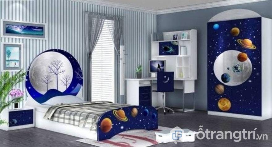Ý tưởng thiết kế phòng ngủ trẻ em siêu đáng yêu (Ảnh: Internet)