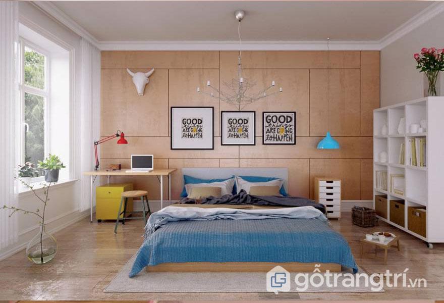 Phòng ngủ bé gái từ 13 tuổi trở nên luôn thanh lịch, nhẹ nhàng (Ảnh: Internet)