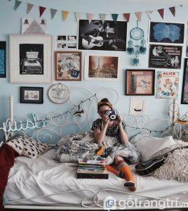 Thiết kế nội thất phong cách vintage có sự pha trộn và phá cách để tạo nên một không gian hài hòa và độc đáo - Ảnh internet