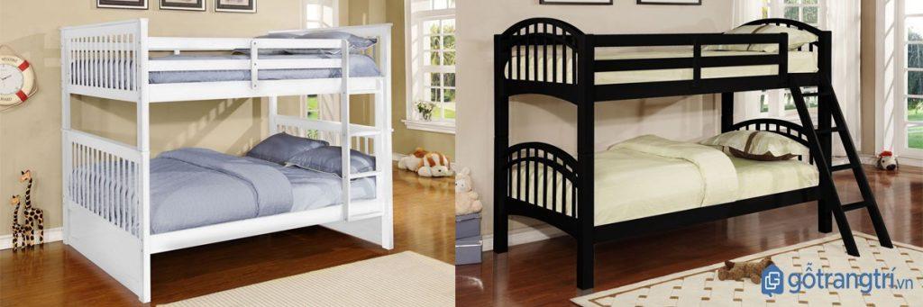 Các mẫu giường ngủ tầng thông minh, tiết kiệm diện tích. (ảnh: internet)