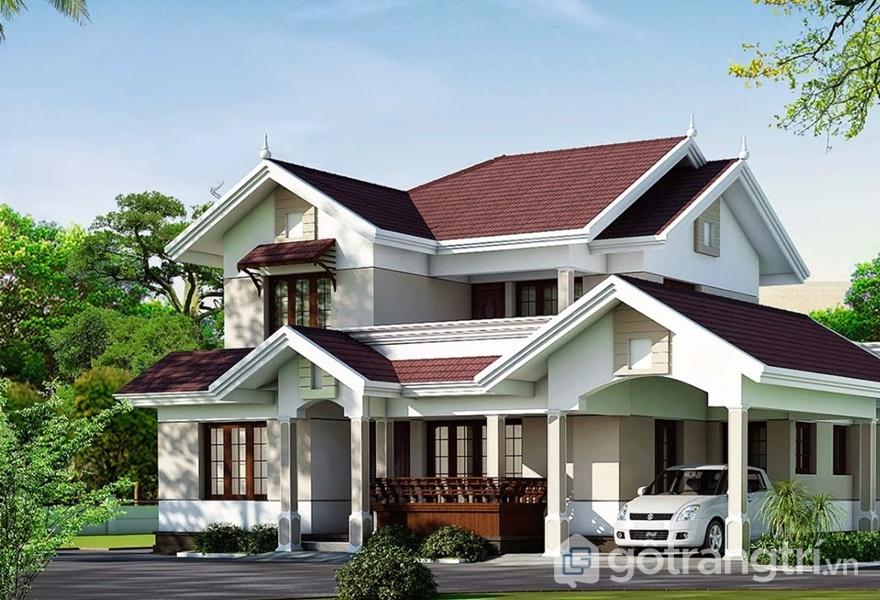 Khi sơn nhà cần xem xét tình trạng nhà (ảnh internet)
