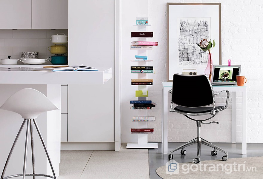 Thiết kế góc làm việc với nội thất di dộng mang đến sự tiện nghi khi sử dụng (ảnh internet)