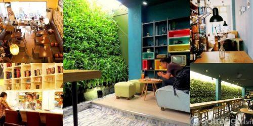 Tư liệu thiết kế nội thất quán cafe tạo không gian mộc mạc, giản dị