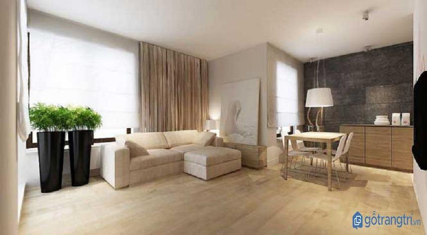 Phong cách tối giản sử dụng ánh sáng để tạo hiệu ứng thị giác và thẩm mỹ. (ảnh: internet)
