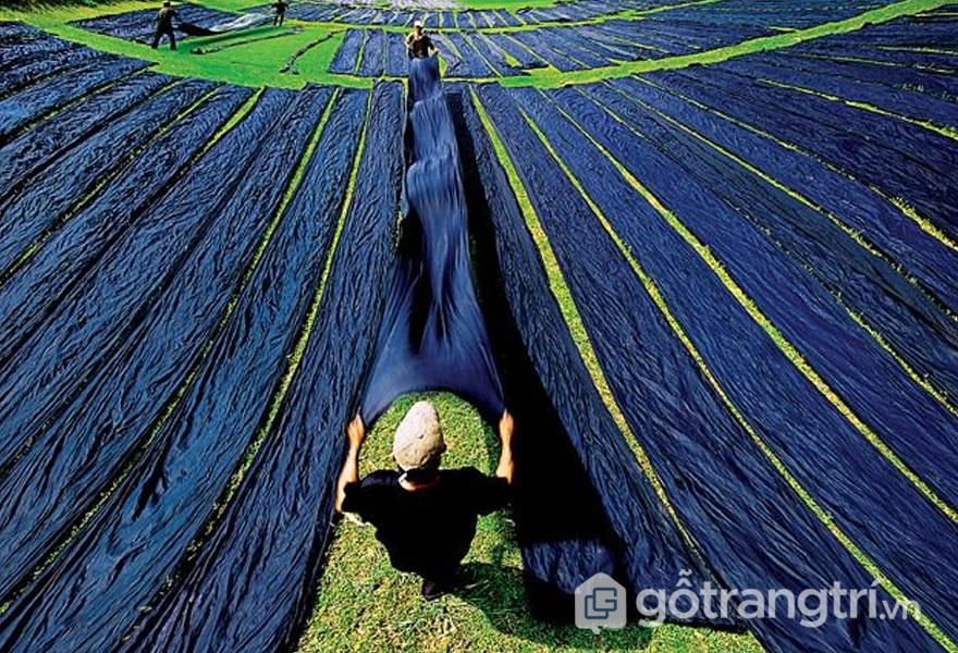 Lụa Tân Châu, An Giang - Nơi thổi hồn nét đẹp truyền thống của làng quê Việt (Ảnh: Internet)