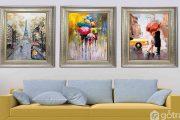 20+ mẫu tranh Canvas treo tường đẹp ấn tượng, hợp phong thủy từng không gian